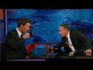 Benedict Cumberbatch Interview with Jon Stewart - Talks About Breaking The Internet - 11/18/2014