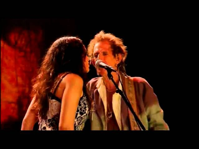 Keith Richards and Norah Jones Love Hurts live 2004