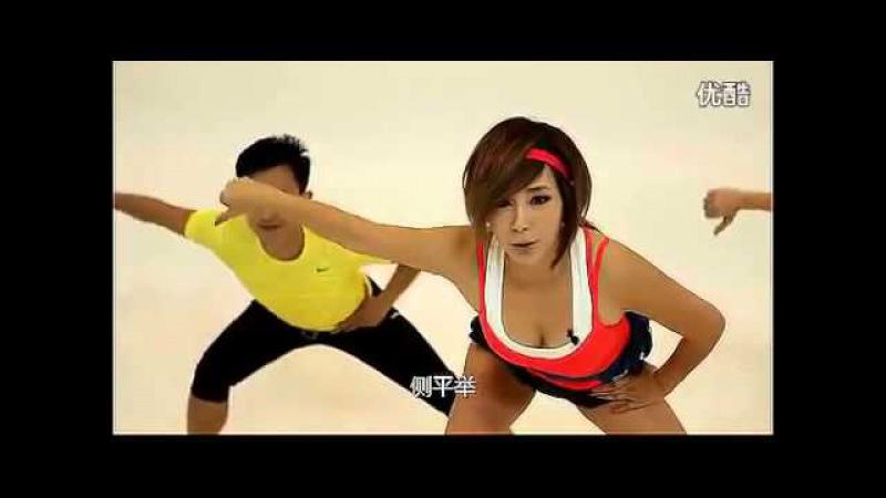 47-летняя Юнг Да Ен и её Figure Robics