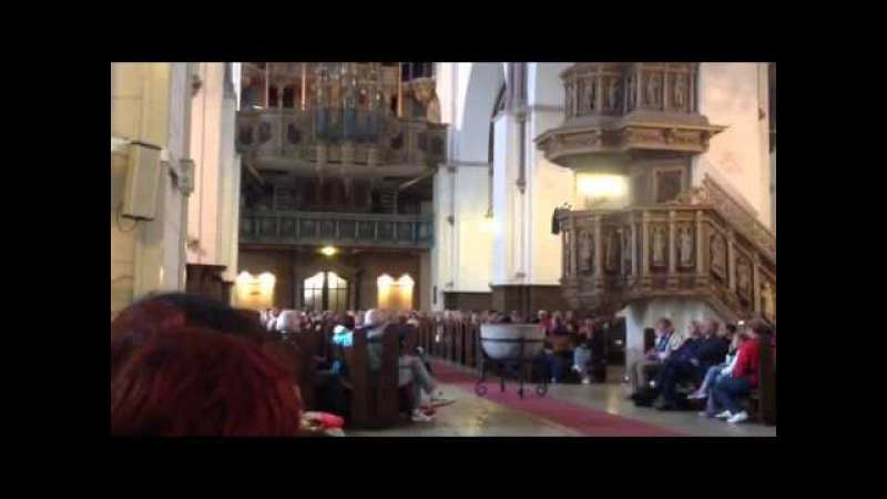 Бах, Фантазия соль минор. Орган Домского собора в Риге