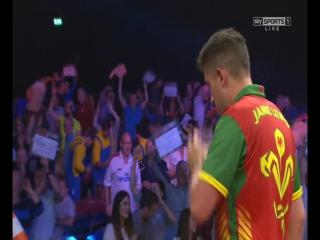 Michael Smith vs Jamie Lewis (World Grand Prix 2015 / Round 2)