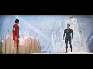 Superman vs Superman: Christopher Reeve meets Henry Cavill [HD]