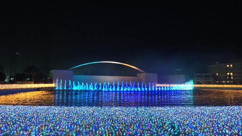 2015 よみうりランド 「ラ・フォンテーヌ」 花火と噴水のコラボレーションショー