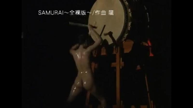 Japanese nude taiko