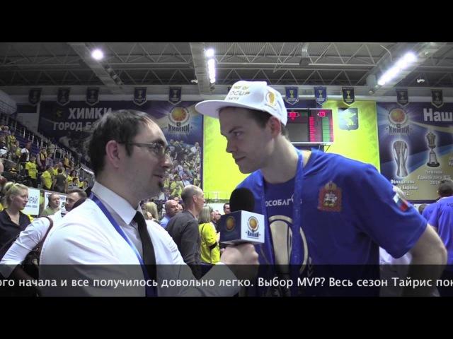 Интервью Петтери Копонена после победы в Кубке Европы