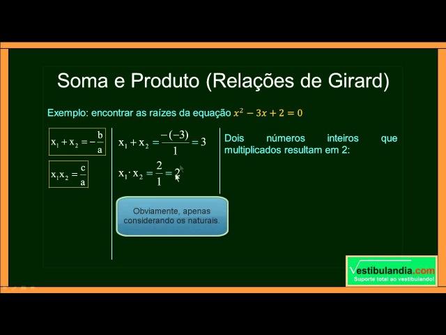 ENEM Matemática Zero 2 0 Aula 22 Equações do Segundo Grau parte 1 de 2