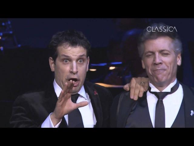 Thomas Hampson Luca Pisaroni - Cheti cheti immantinente (Donizetti: Don Pasquale)