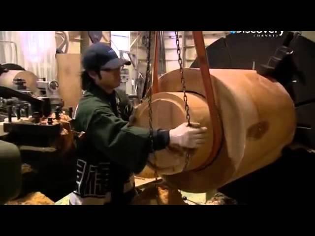 Как это сделано Японский Тайко барабан