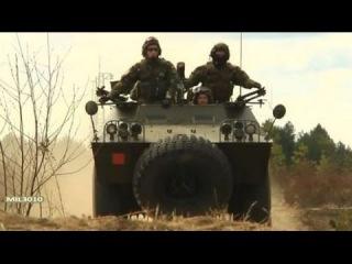 Самоходные 81-мм минометы Bravia Chaimite вооруженных сил Португалии на полигоне в Литве, НАТО