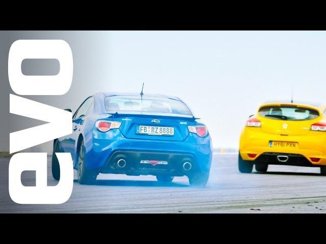 Трек битва Renault Megane 265 Trophy vs Subaru BRZ NaZa5aske