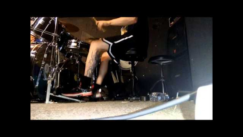 Resurrected - Gorging on Mucus and Bile (Pyaemia Cover) Drumcam by Dennis Thiele