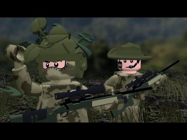 LEGO MODERN WARFARE All Ghillied Up