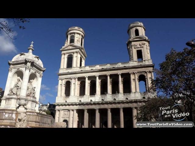 L'Eglise Saint Sulpice à Paris Full HD