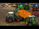 R/C John Deere Fendt in Action! Amazing RC Tractors at work. Awesome Farmland! SIKU 1:32 models.