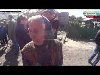 ДНР. Старомихайловка. Интервью с местными жителями.