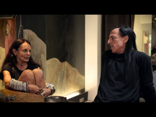 Sorbet magazine Interview with Rick Owens and Michele Lamy