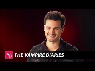 The Vampire Diaries - Michael Malarkey Interview