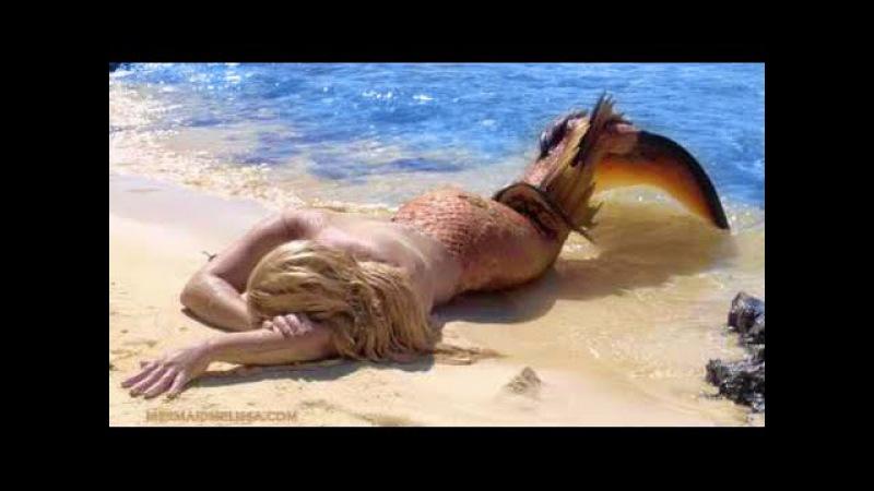 Real Life Mermaid Melissa Footage on Tropical Island