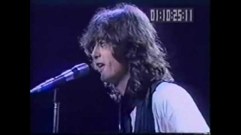 Jimmy Page's Chopin Prelude n 4 Arms Concert New York 1983