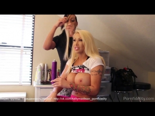 Candy manson & kelly madison (behind the scenes)