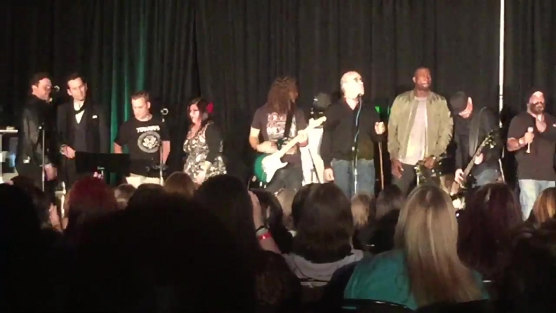 Absolutely dying August Eric together too much swagger on 1 stage OUATCHI @eionbailey @GilMcKinney @SinquaWalls