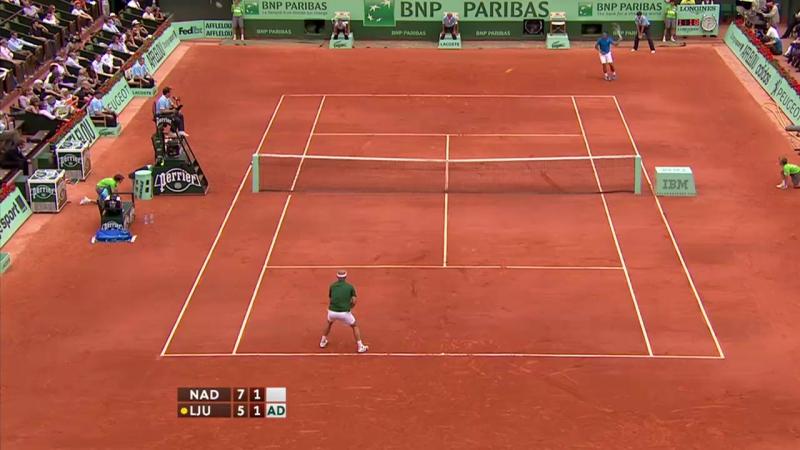 Roland Garros 2011 Round 4 | Rafael Nadal - Ivan Ljubicic