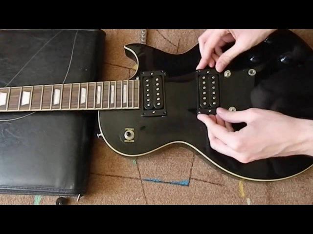 Замена звукоснимателей электрогитары (пассивных) на примере Vintage V99