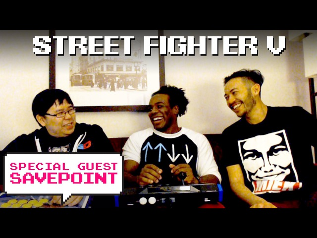 Street Fighter V w Gootecks Justin Wong Creed gets trained Special Guest Savepoint