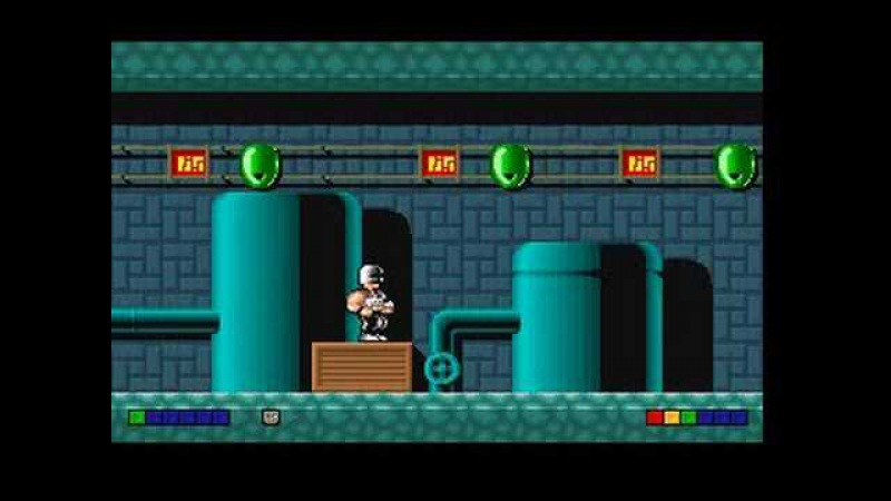 Electroman Level 1 (DOS Game)