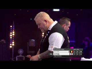 Geert De Vos vs Darryl Fitton (BDO World Darts Championship 2017 / Quarter Final)
