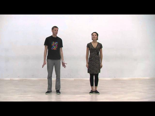 Видео уроки Буги вуги Boogie woogie Intermediate Lesson 1 Basic steps variations eng subs