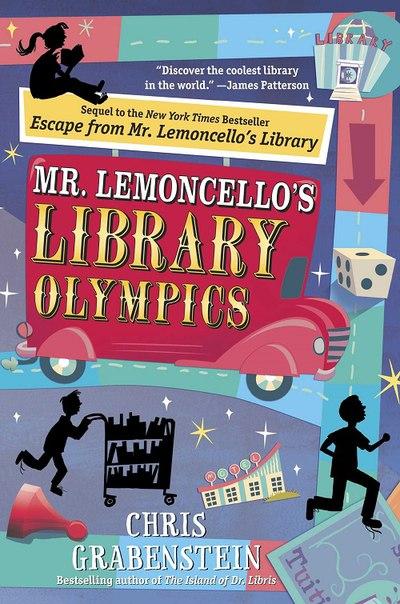 Chris Grabenstein - Mr Lemoncello's Library Olympics