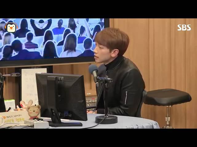 [SBS]두시탈출컬투쇼,비, 콘서트에서 찢고 벗고 재껴야 해서 지금은 관리 중