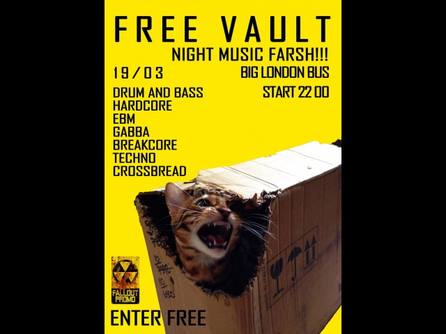 MadMatt FREE VAULT 19 03 16 @ Bar London