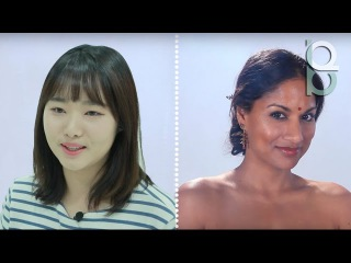 Korean girls react to Woman Makeup Throughout History by BuzzFeed