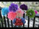 Hydrangea paper flower tutorial - Hoa cẩm tú cầu bằng giấy nhún