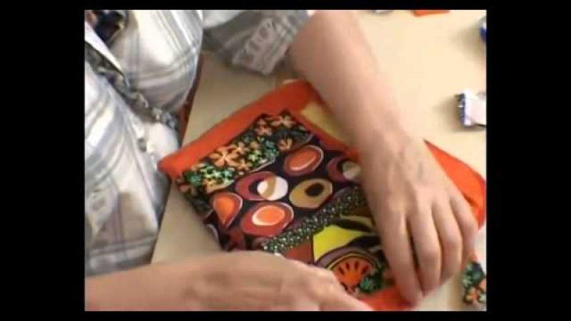Как сшить сумочку, часть 2-ая своими руками Мастер класс