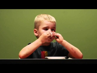Зефирный тест. Забавная проверка детской реакции