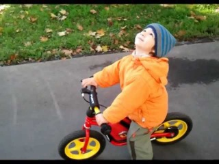 Беговел Puky... Целый год из жизни. One year of life on Puky balance bike.