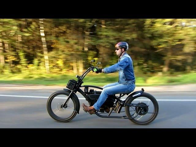 Электровелосипед Megavel Bronco Extreme