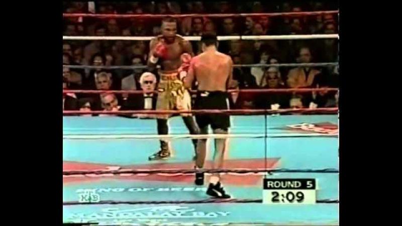 Oscar De La Hoya vs Ayk Kvortey Оскар Де Ла Хойя Айк Квортей