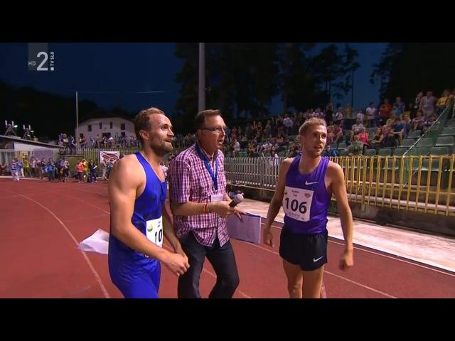 Men's 800m Velenje 20th International Athletic Meeting 2015