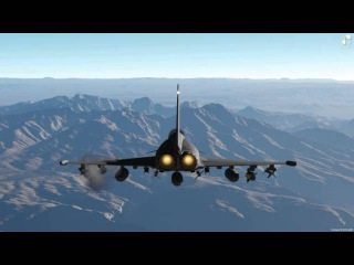 EuroFighter EF-2000 Missile Run - Outerra Anteworld
