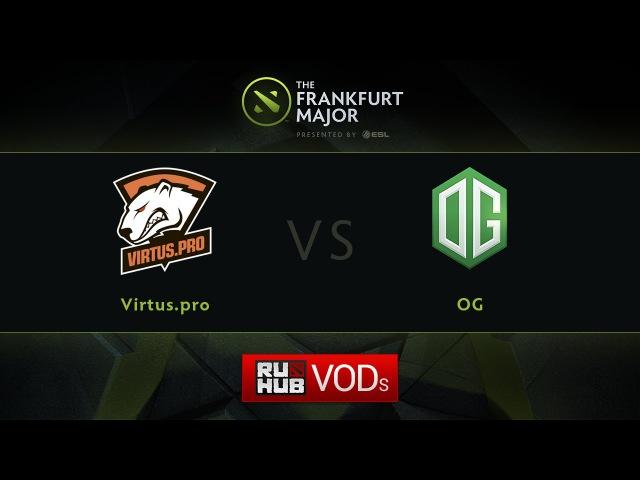 VP vs OG, Fall Major, LB Round 4, Game 2