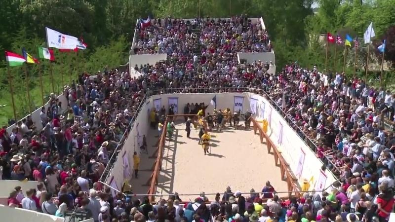 Battle of the Nations 2015 Estonia vs Chezh