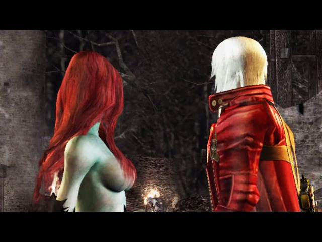 RE4 UHD Devil May Cry 3 Mod DEMO Cutscenes run