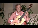 G. F. Handel: Aria from Rinaldo on classical guitar