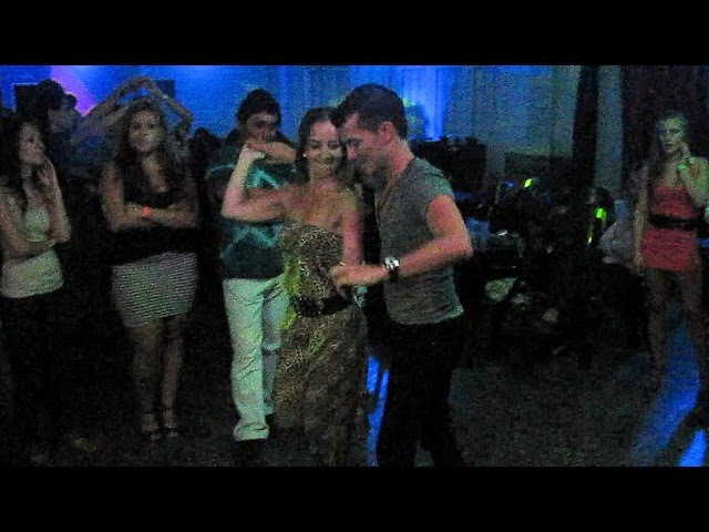 Junín Salsa Congress 2012 ~ Baile Social ~ Oliver Pineda Adriana Ithurbide Arralde