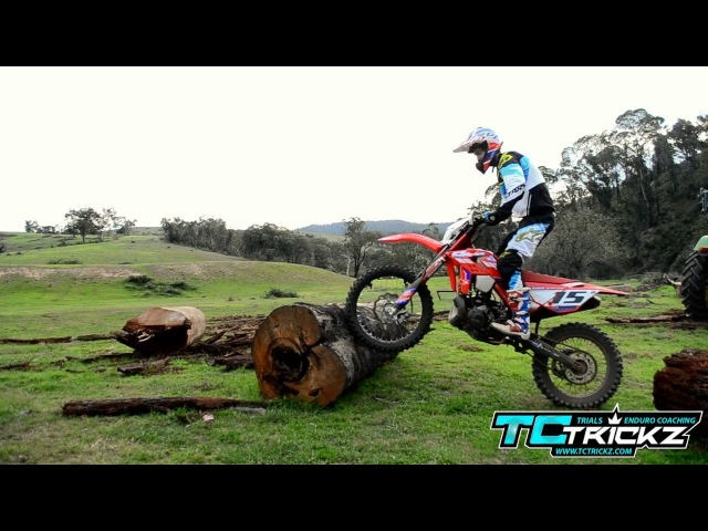 TIM COLEMAN How to ride over logs on Enduro bike