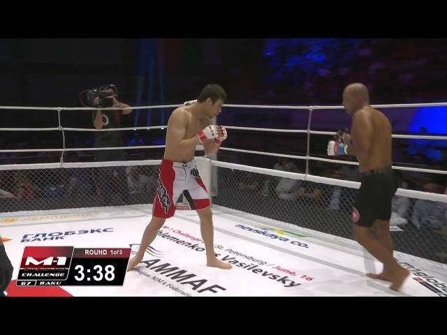 Marcelo Brito vs Shavkat Rakhmonov M 1 Challenge 67 June 4th